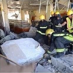 بالصور والفيديو : تفاصيل حادثة انفجار مطعم بالرياض 23 يناير 2014