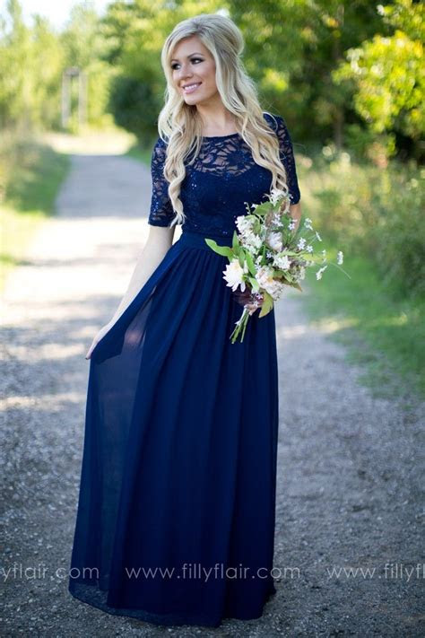 Best 25  Midnight blue prom dresses ideas on Pinterest