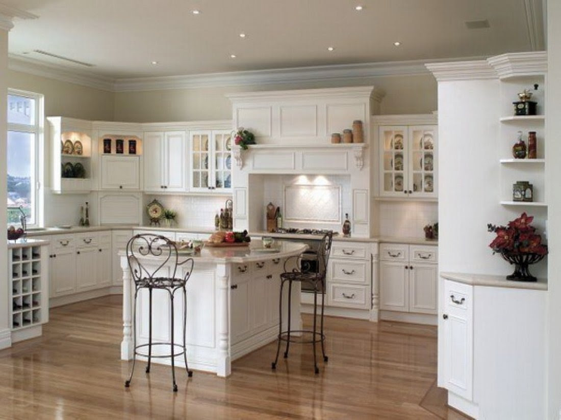 Best Kitchen Paint Colors with White Cabinets  Home Furniture Design