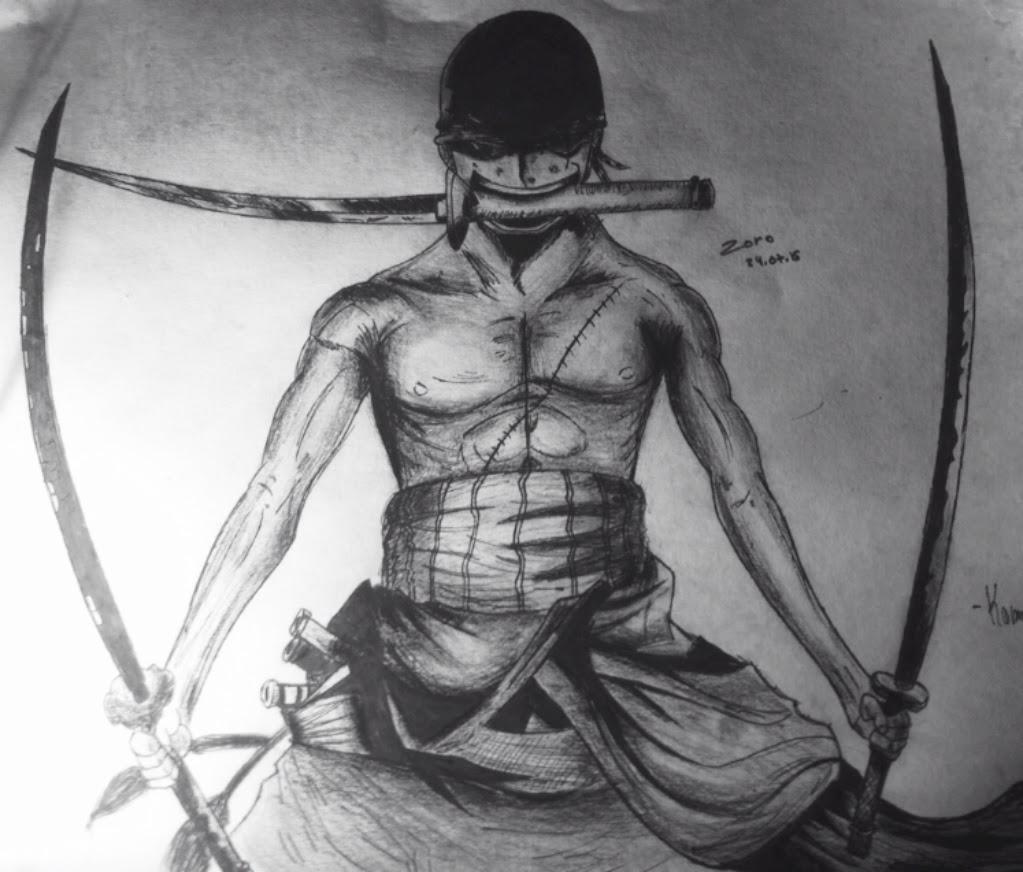One Piece Roronoa Zoro Dab Dessin