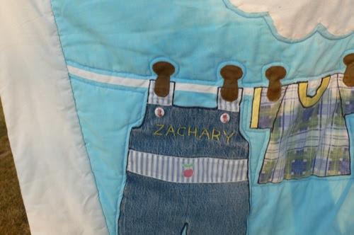 Laundry Line Quilt Detail 1