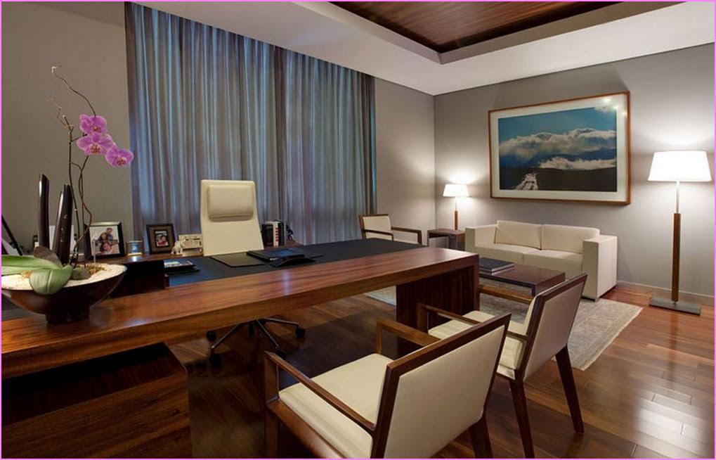corporate executive office decor