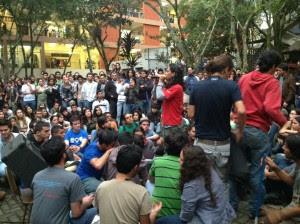 Estudiantes de UCR y UNA organizan marcha para los próximos días. CRH