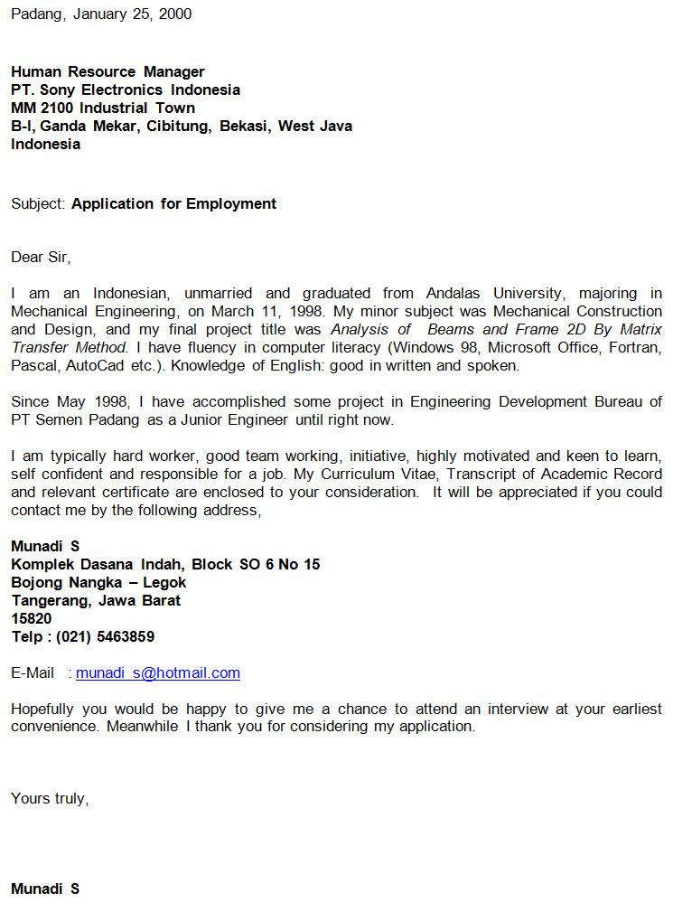 CONTOH RESUME BAHASA INDONESIA DAN INGGRIS: contoh surat ...