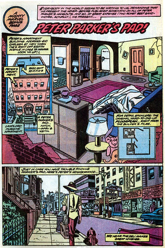 """Peter Parker's Pad"" (incorrect version), from Amazing Spider-Man Annual #13"