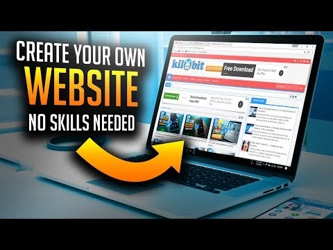 How to create your own website free without any skills Start my own website