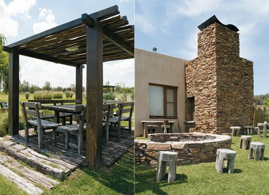 Decoracion una propuesta moderna con estilo campestre - Jardines rusticos campestres ...