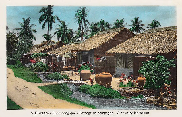 SAIGON - Paysage de Campagne - Cảnh đồng quê
