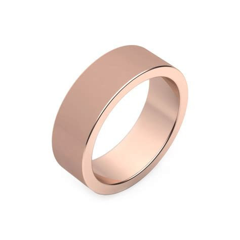 Mens's Wedding Rings pink gold   Jewelry in Barcelona