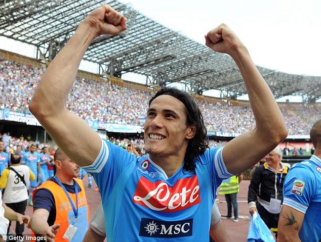 Prolific: The Uruguayan was top scorer in Serie A last season