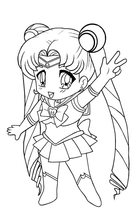 anime cat girl coloring pages coloring home
