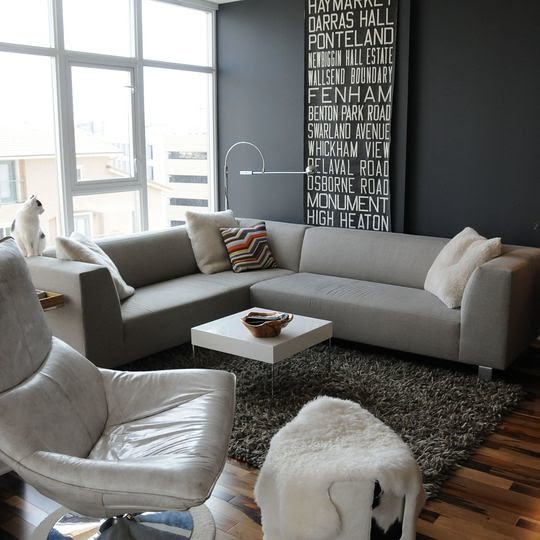 Grey In Home Decor Passing Trend Or Here To Stay: My Mod Style: TODAYS COLOR: GRAY