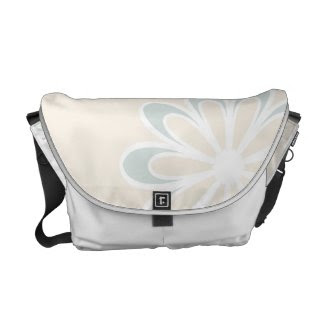 Simple Flower rickshawmessengerbag