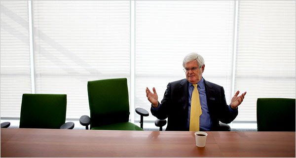 Newt Gingrich and friends