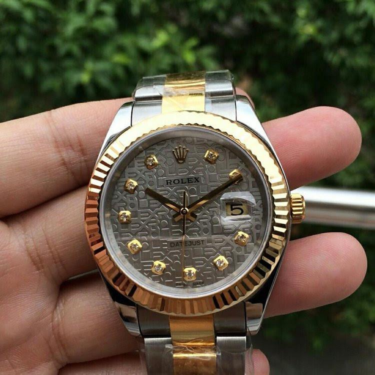 Replica Rolex 41mm Datejust Rolex Pattern Dial