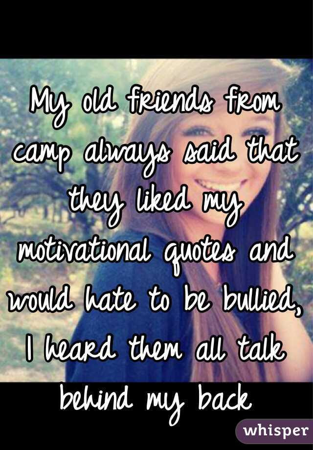You Talk Behind My Back Quotes Chileatucd