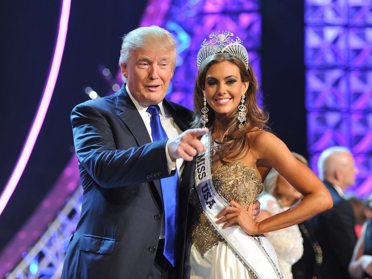 He also became the owner of the infamous Miss Universe beauty pageant for many years.