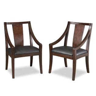 Home Styles Rio Vista Game Table Chair Pair Espresso Finish ...