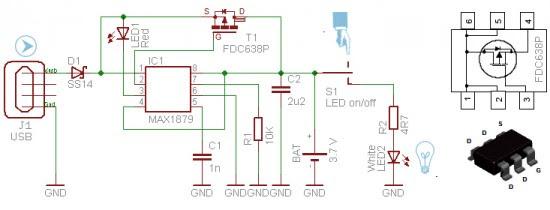 egg candler circuit