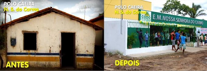 FOTOS – Prefeito Zito construiu mais de 150 salas de aula durante seu governo