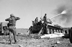 Truppe israeliane sul fronte del Golan