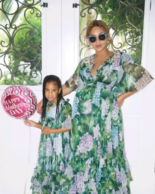 Pregnant Beyonce Shares Super Sweet Snaps From Mother's Day
