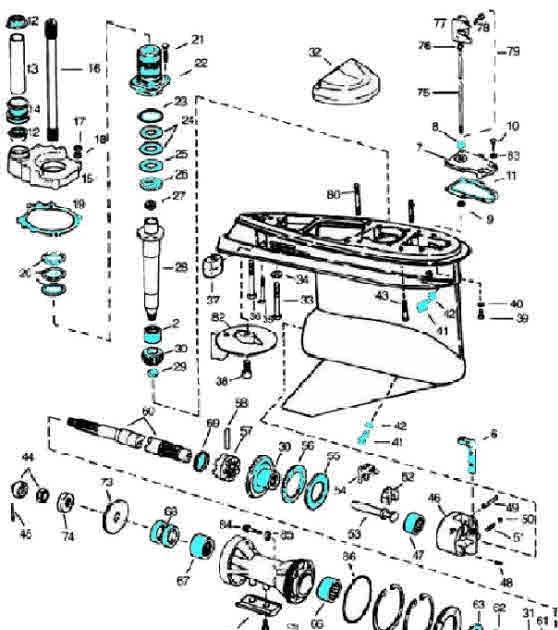 Johnson Outboard Control Box Diagram