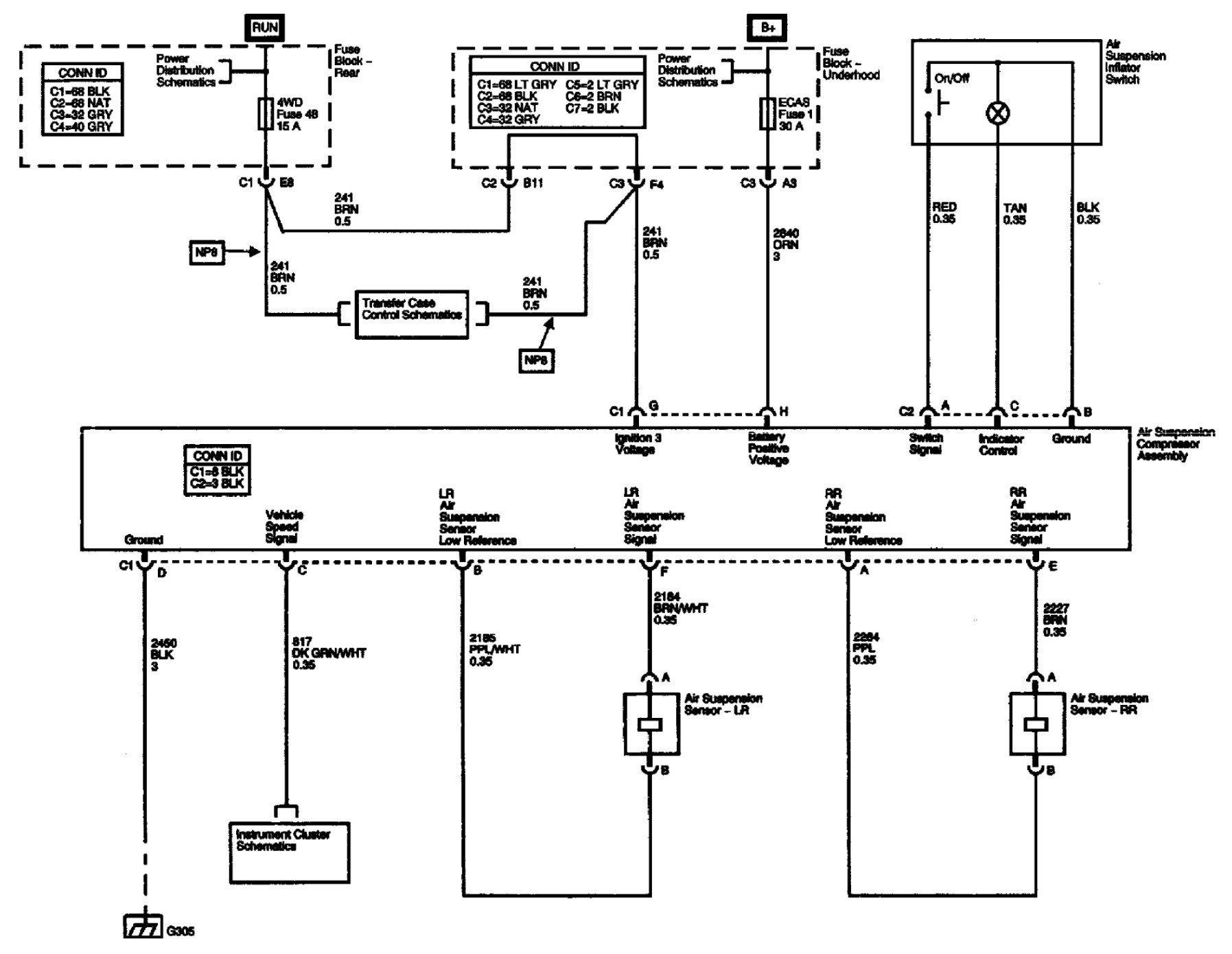 DIAGRAM 2001 Oldsmobile Bravada Wiring Diagram FULL ...