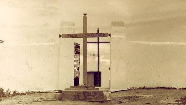 Cemitério do campo de concentração em Senador Pompeu Foto: Divulgação/MP/CE