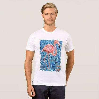Flamingogh Masterpiece T-Shirt