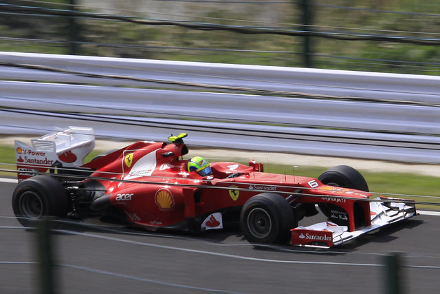 2012 F1 Japanese GP day 2 P3
