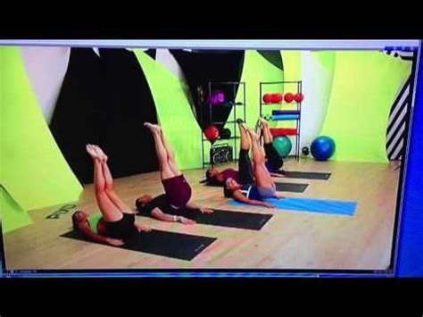 piyo strength lesson  piyo strength pilates abs exercise
