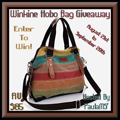 Enter To Win! This beautiful Winkine Hobo Bag in the #Giveaway before it ends 9/20