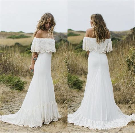 Discount 2018 Sexy Boho Country Style Wedding Dresses Off
