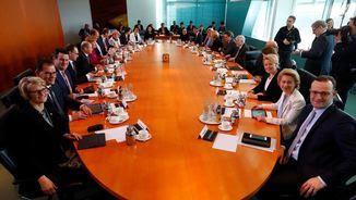 Reunió recent del nou govern alemany, liderat per Angela Merkel (Reuters)