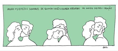 Amor Tirinha Sussurro Quadrinhos A Banda Mais Bonita Da Cidade