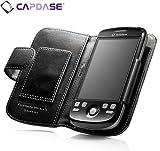 CAPDASE 日本正規品 docomo HT-03A / HTC Magic Google G2 Leather Case Bi-fold, Black よこ開き レザーケース WCHCMAGIC-0001