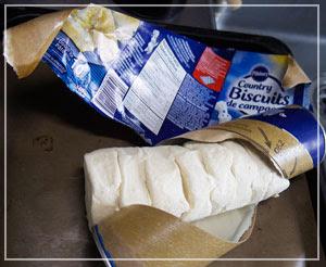 「Pillsbury」の冷蔵パン生地は、ほんとにほんとに便利。しかも美味しい。
