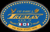 USS Harry Truman CVN-75 Crest.png