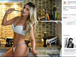 Modelo de 29 anos foi detida no dia sete de abril, em Valinhos (SP)  (Foto: Reprodução/Facebook )