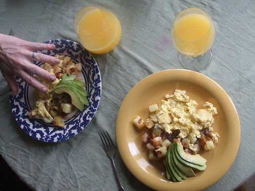 ten months — breakfast
