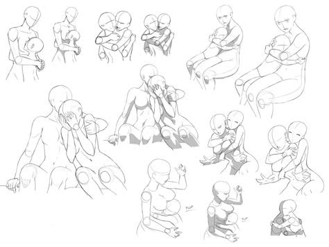 hug drawing reference  sketches  artists