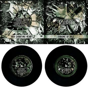"Iron Witch & The Atrocity Exhibit 7"" cover art"