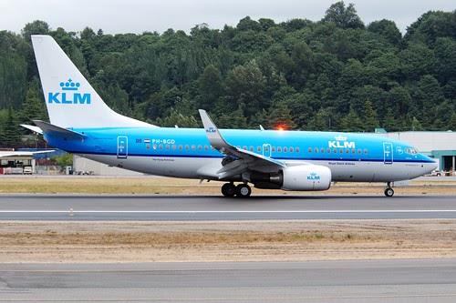 Airplane Pics Klm Boeing 737 700 Jet Airplane
