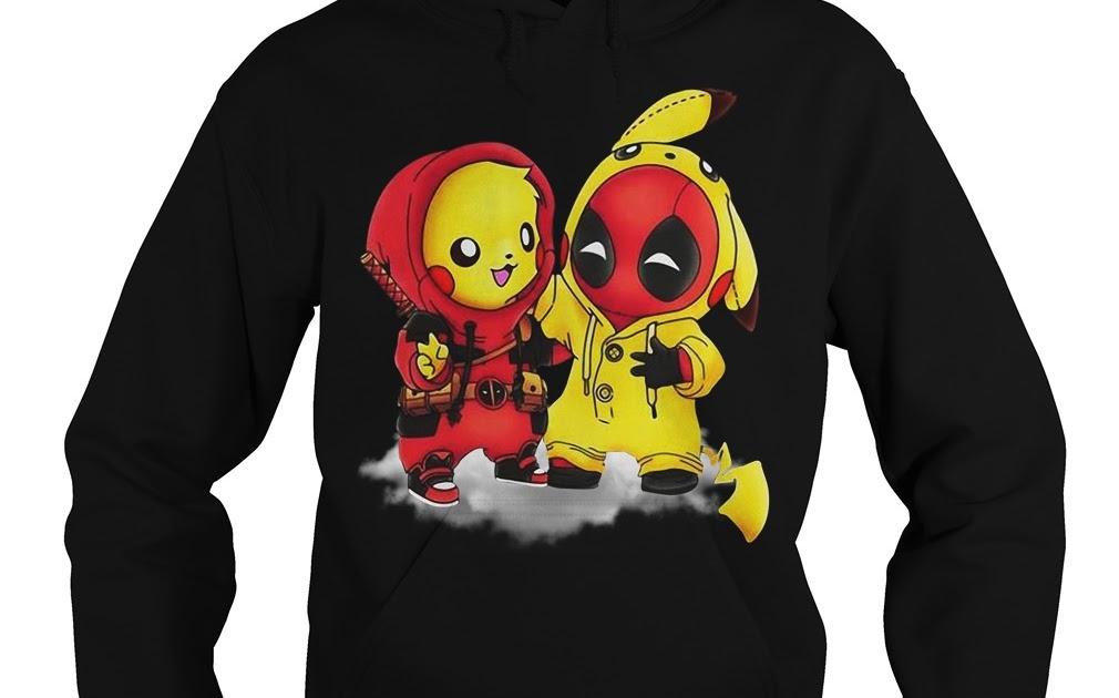 ee5db062 Best friends Deadpool and Pikachu shirt ~ AkhoaShirtat