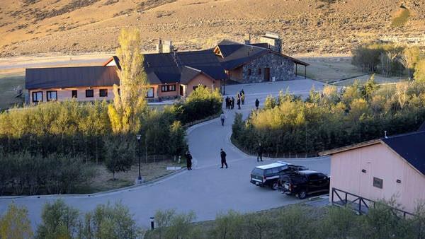 La emblemática estancia Cruz Aike quedaría en manos de Gendarmería. Foto Maxi Failla.