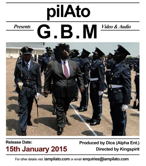 pilato gbm prod dice zambian  blog