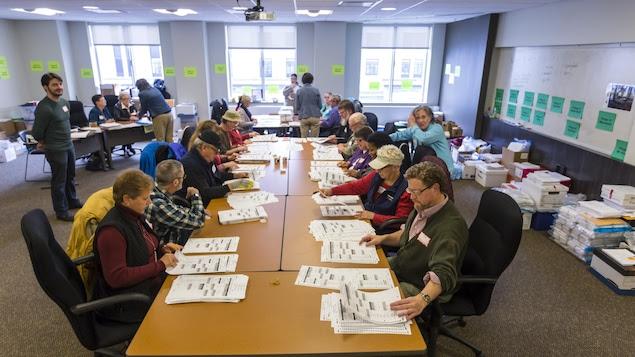 Au Wisconsin, le nouveau dépouillement des bulletins de vote est en cours depuis déjà plusieurs jours.
