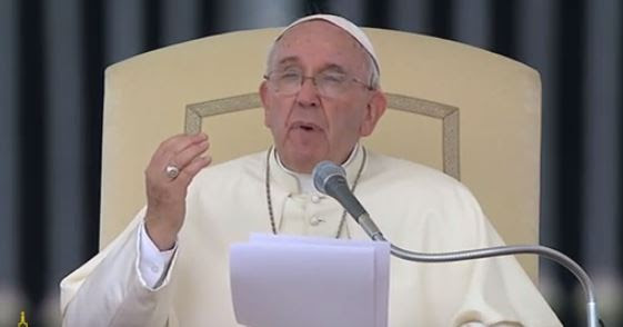 Pope Francis addresses the Prayer Vigil for the Synod