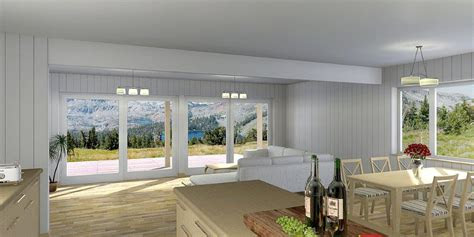 small house plan ch  narrow lot   bedrooms